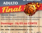Final da Copa América de Basquete acontece neste domingo na capital
