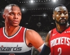 Rockets e Wizards trocam Westbrook com Jonh Wall